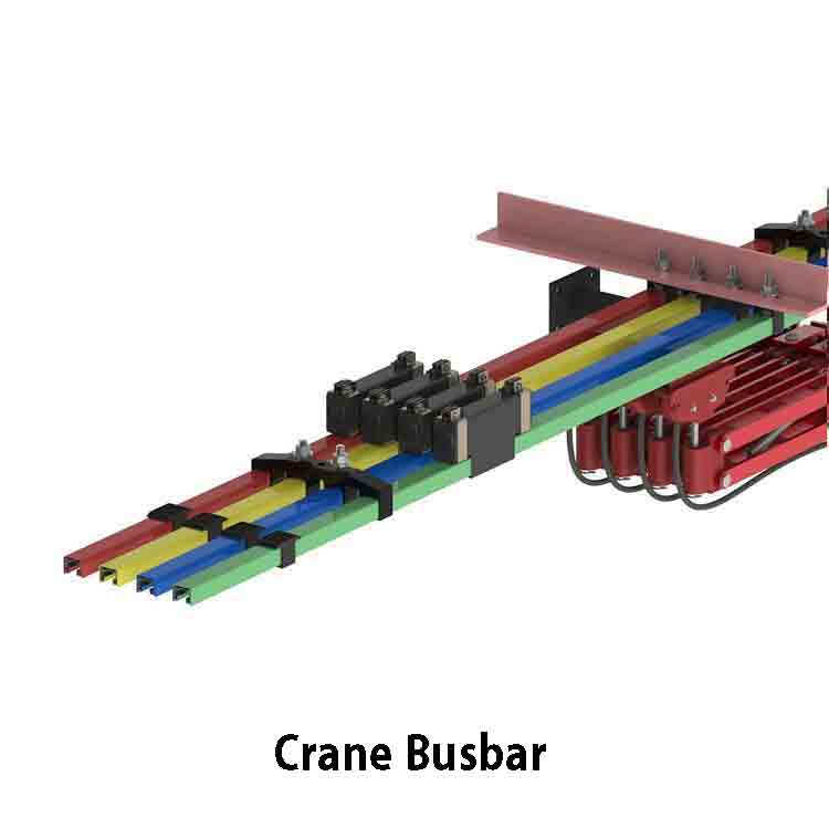 A Busbar Assembly of 4 individual busbars