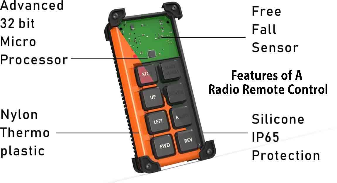 Radio Remote Controls For Eot Cranes In India